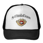 My First Baseball Season Hats