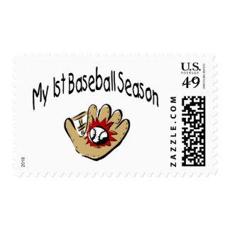 My First Baseball Season Postage