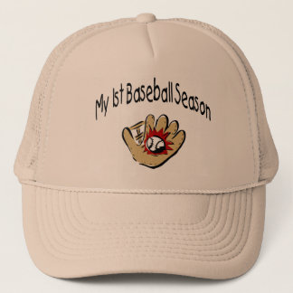 My First Baseball Season Trucker Hat