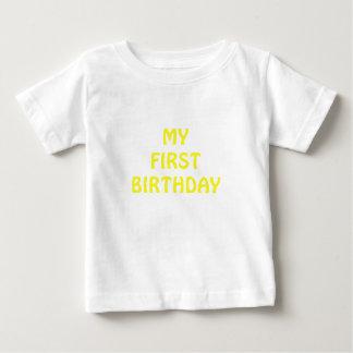 My First Birthday Baby T-Shirt