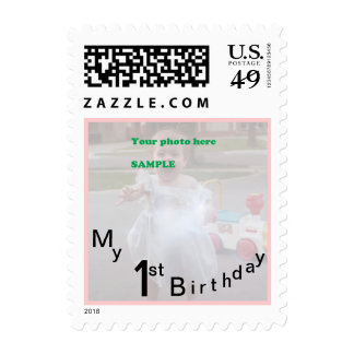 My First Birthday Party Postage