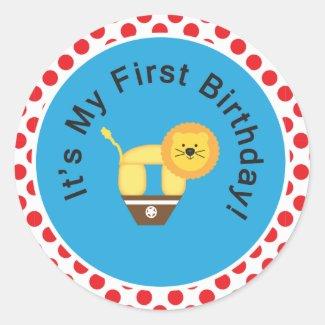 My First Birthday! Sticker