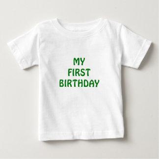 My First Birthday T Shirt