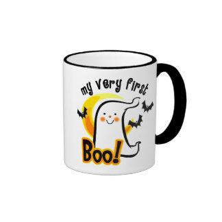 My First Boo Ringer Coffee Mug