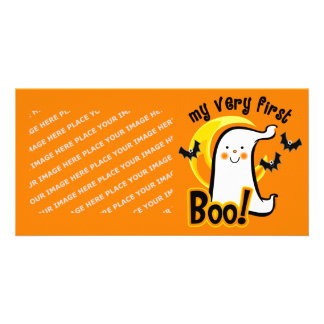 My First Boo Photo Card