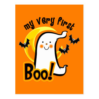 My First Boo Postcard