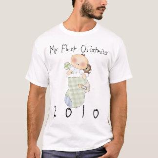 My First Christmas 2010 Boy #3 T-Shirt