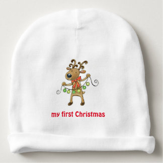 My first Christmas Baby Beanie