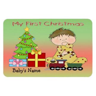 My First Christmas Boy Flex Magnets