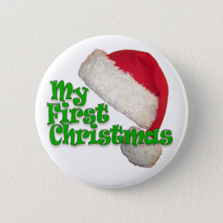 My First Christmas Button