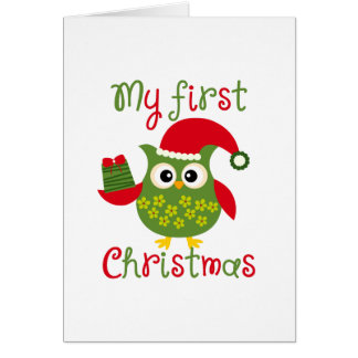 My First Christmas Card