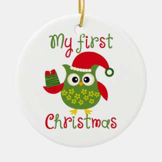 My First Christmas Ceramic Ornament