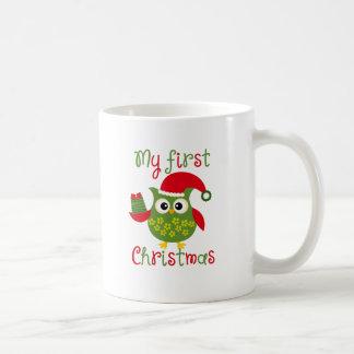 My First Christmas Coffee Mug