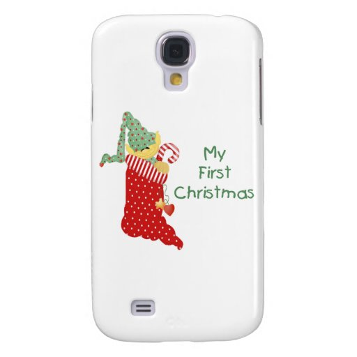 My First Christmas Galaxy S4 Cover