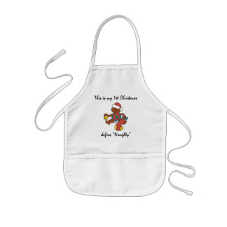 My First Christmas Gift Kids' Apron