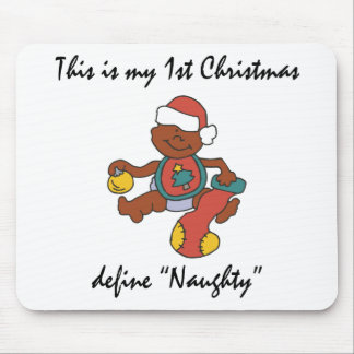 My First Christmas Gift Mouse Pad