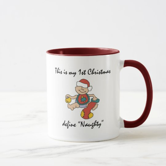 My First Christmas Gift Mug