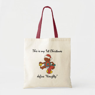 My First Christmas Gift Tote Bag