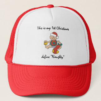 My First Christmas Gift Trucker Hat