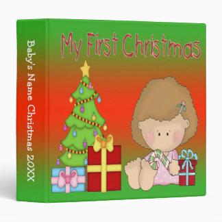 """My First Christmas Girl 1.5"""" Binder"""