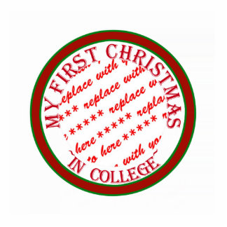 My First Christmas In College Photo Frame Template Photo Cut Out