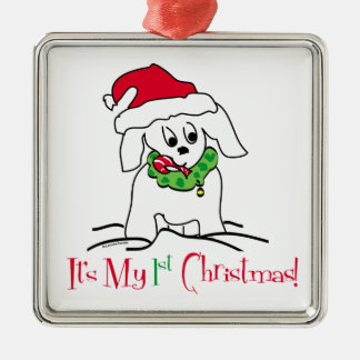 My First Christmas Metal Ornament