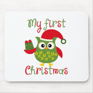 My First Christmas Mouse Pad