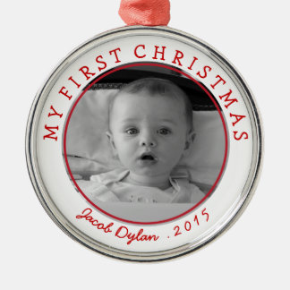 My First Christmas Photo Ornament Keepsake