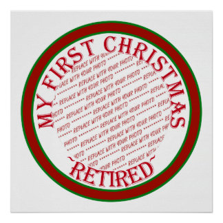 My First Christmas Retired Photo Frame Posters