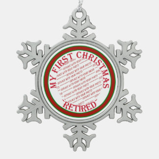 My First Christmas Retired Photo Frame Snowflake Pewter Christmas Ornament
