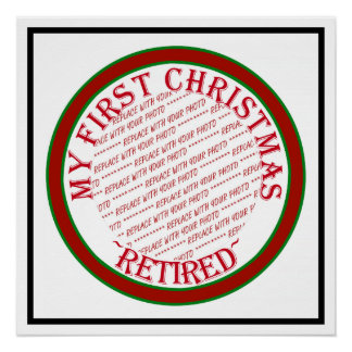 My First Christmas Retired Photo Frame Perfect Poster