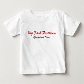 My First Christmas Template T Shirt