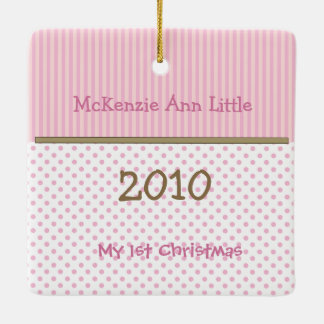 My First Christmas Tiny Tee Photo Ornament