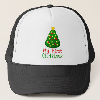 My First Christmas Tree Trucker Hat