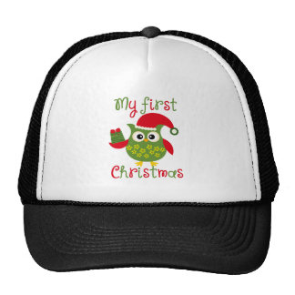 My First Christmas Trucker Hat