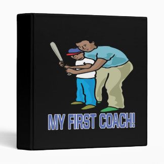 My First Coach 3 Ring Binder