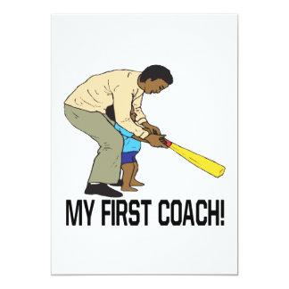 My First Coach Card