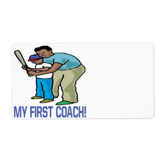 My First Coach Label