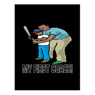 My First Coach Postcard
