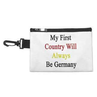 My First Country Will Always Be Germany Accessories Bag