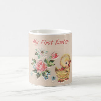 My First Easter Baby Duck Flowers Mug