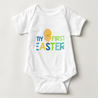My First Easter - Boys Baby Bodysuit