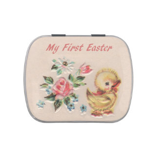 My First Easter Duckling Candy Tin