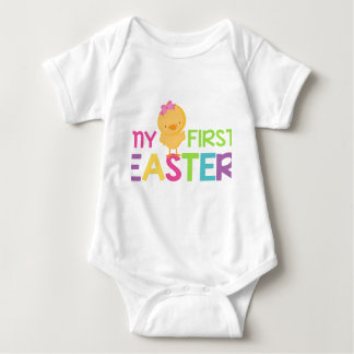 My First Easter - Girls Baby Bodysuit