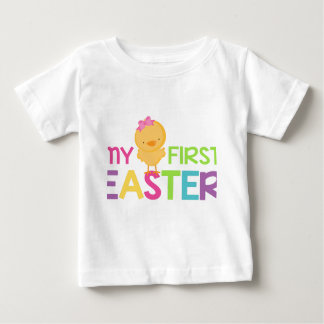 My First Easter - Girls Baby T-Shirt
