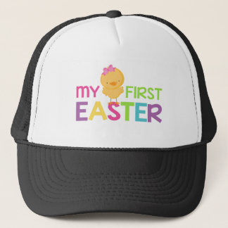 My First Easter - Girls Trucker Hat