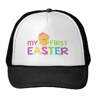 My First Easter - Girls Trucker Hat