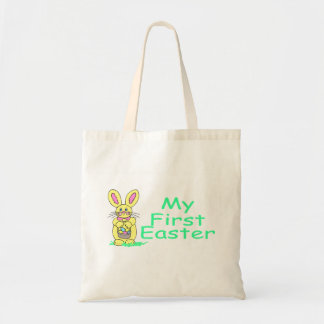 My First Easter Green Tote Bag