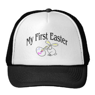 My First Easter Painting Bunny Trucker Hat