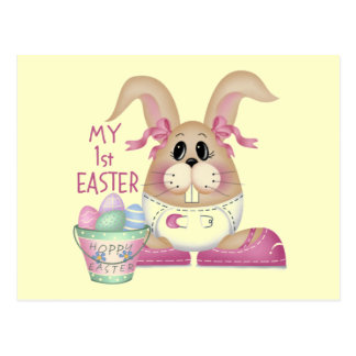 My First Easter Postcards